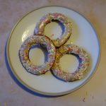 Glazed Gluten Free Puff Pastry Doughnuts - Glazed doughnuts