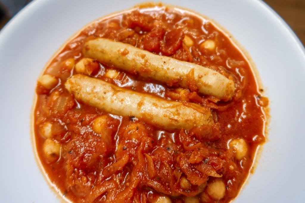 Gluten free sausage cassoulet